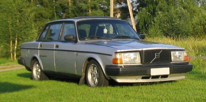 Volvo sidan - Volvo 244Turbo '83